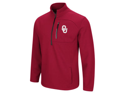 Oklahoma Sooners Colosseum NCAA Men's Advantage Quarter Zip Pullover