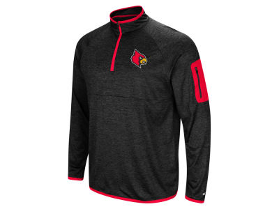 Louisville Cardinals Colosseum NCAA Men's Amnesia Quarter Zip Pullover