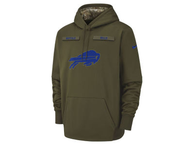 Buffalo Bills Nike 2018 NFL Men's Salute To Service Therma Hoodie