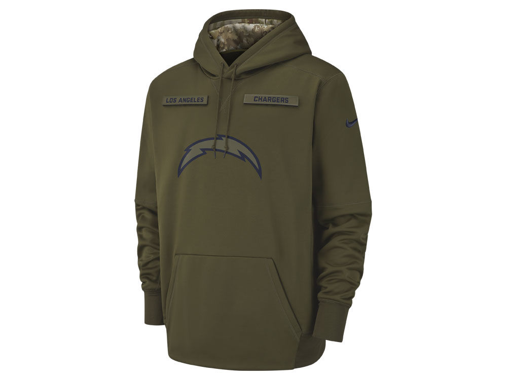 wholesale dealer 08c3b 01a9b italy nfl womens los angeles chargers nike olive salute to ...