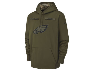 Philadelphia Eagles Nike 2018 NFL Men's Salute To Service Therma Hoodie