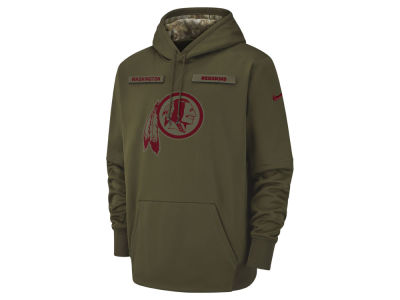 Washington Redskins Nike 2018 NFL Men's Salute To Service Therma Hoodie