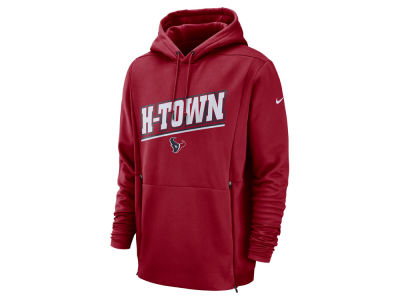 Houston Texans Nike NFL Men's Sideline Player Local Therma Hoodie