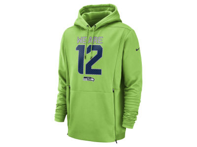 f4a425348 Seattle Seahawks Nike NFL Men s Sideline Player Local Therma Hoodie