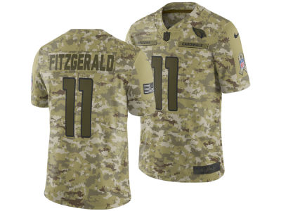 Arizona Cardinals Larry Fitzgerald Nike 2018 NFL Men's Salute To Service Jersey