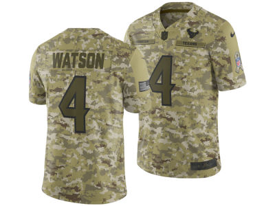 Houston Texans DeShaun Watson Nike 2018 NFL Men's Salute To Service Jersey