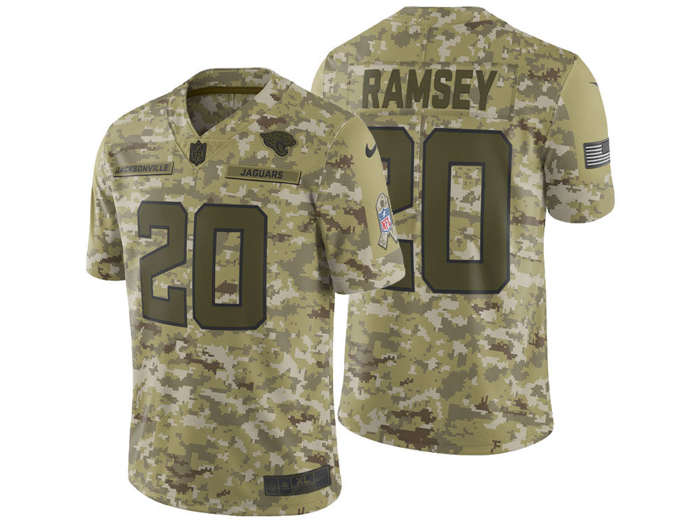 58e94e8eef09 ... canada jacksonville jaguars jalen ramsey nike 2018 nfl mens salute to  service jersey 3ed0e ecfdf