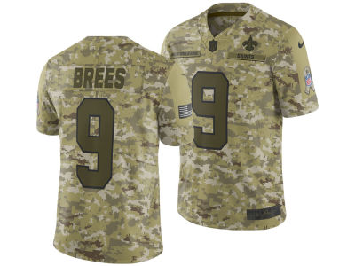 New Orleans Saints Drew Brees Nike 2018 NFL Men s Salute To Service Jersey 497a3a88a