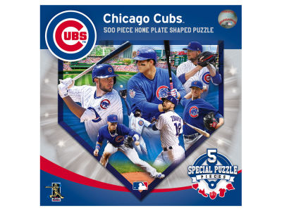 Chicago Cubs Sports Shaped 500pc. Puzzle