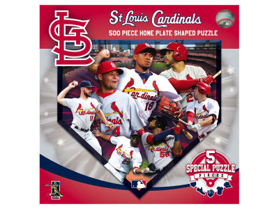 St. Louis Cardinals Sports Shaped 500pc. Puzzle
