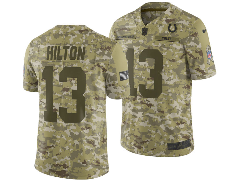 Indianapolis Colts T.Y. Hilton Nike 2018 NFL Men s Salute To Service Jersey   7665270b2