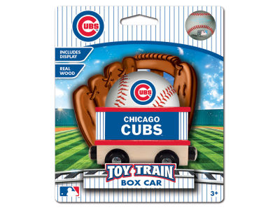 Chicago Cubs Wood Box Car