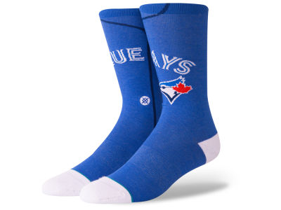 Toronto Blue Jays Stance MLB Alternate Jersey Series Crew Socks