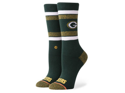 Green Bay Packers Stance NFL Women's Crew Socks