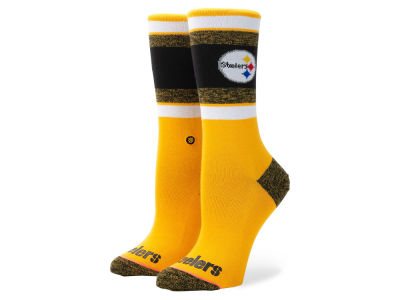 Pittsburgh Steelers Stance NFL Women's Crew Socks