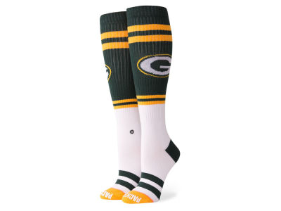 Green Bay Packers Stance NFL Women's Pipe Bomb Socks
