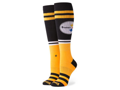 Pittsburgh Steelers Stance NFL Women's Pipe Bomb Socks