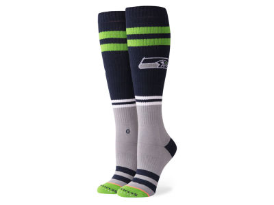 Seattle Seahawks Stance NFL Women's Pipe Bomb Socks