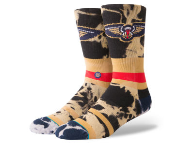 New Orleans Pelicans Stance NBA Acid Wash Crew Socks