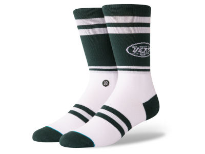New York Jets Stance NFL Logo Crew Socks