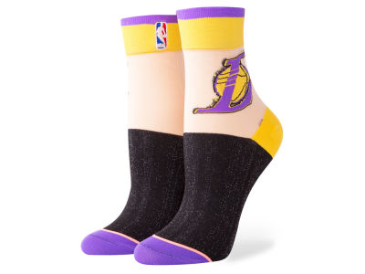 Los Angeles Lakers Stance NBA Women's Monofilament Anklet Socks