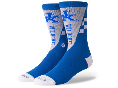 Kentucky Wildcats Stance NCAA Pennant Crew Sock