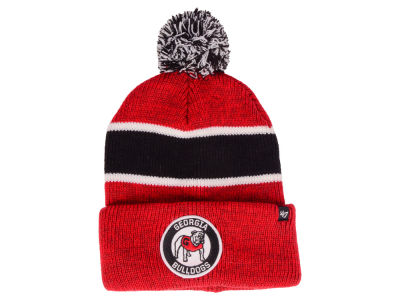 Georgia Bulldogs '47 NCAA Noreaster Pom Knit
