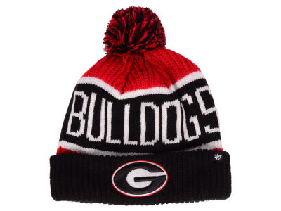 Georgia Bulldogs '47 NCAA Calgary Pom Knit
