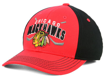 Chicago Blackhawks Outerstuff 2018 NHL Youth  Faceoff Flex Cap