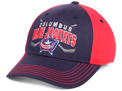Columbus Blue Jackets Outerstuff 2018 NHL Youth  Faceoff Flex Cap