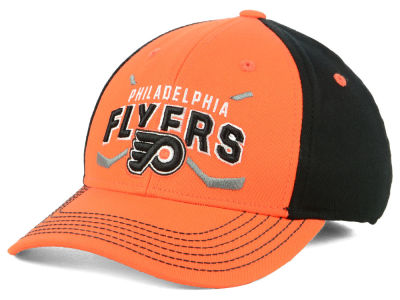 Philadelphia Flyers Outerstuff 2018 NHL Youth  Faceoff Flex Cap