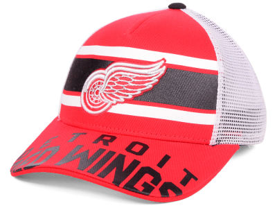 Detroit Red Wings Outerstuff NHL Youth Redline Adjustable Cap