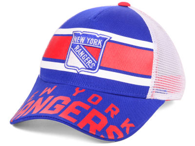 quality design a43b3 33d5c buy new york rangers outerstuff nhl youth redline adjustable cap 7feaf 966b9