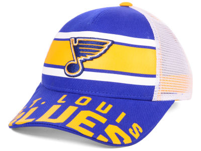 St. Louis Blues Outerstuff NHL Youth Redline Adjustable Cap