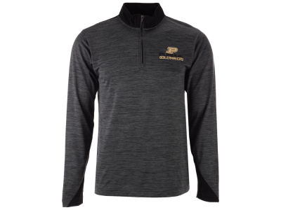 Purdue Boilermakers J America NCAA Men's Spacedye Quarter Zip Pullover