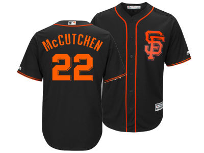 San Francisco Giants Andrew McCutchen Majestic MLB Men's Player Replica Cool Base Jersey