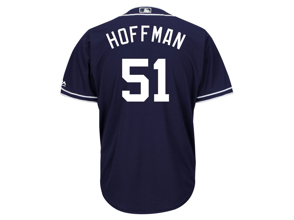 730ae054e San Diego Padres Trevor Hoffman Majestic MLB Men s Hall Of Fame Induction  Patch Cool Base Jersey