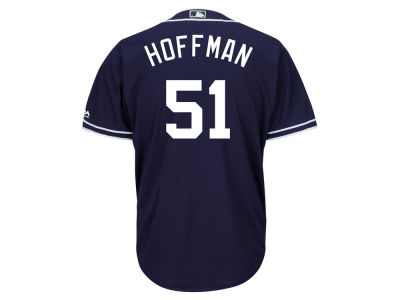 San Diego Padres Trevor Hoffman Majestic MLB Men's Hall Of Fame Induction Patch Cool Base Jersey