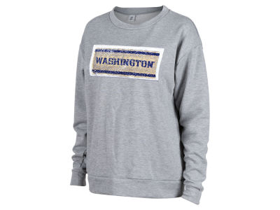 Washington Huskies NCAA Women's Reversible Sequin Sweatshirt