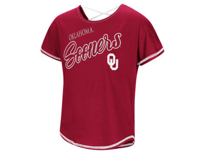 Oklahoma Sooners Colosseum NCAA Girls Little Giants Dolman T-Shirt