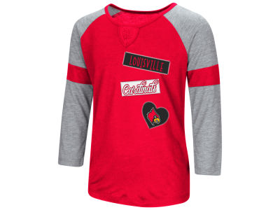 Louisville Cardinals Colosseum NCAA Girls All You Need 3/4 Sleeve T-Shirt