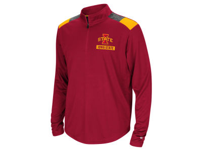 Iowa State Cyclones Colosseum NCAA Youth 99 Yards Quarter Zip Pullover