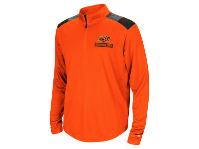 Oklahoma State Cowboys Colosseum NCAA Youth 99 Yards Quarter Zip Pullover