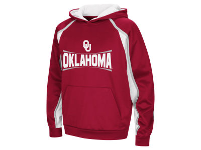 Oklahoma Sooners Colosseum NCAA Youth Poly Pullover Hoodie