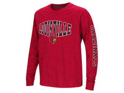 Louisville Cardinals Colosseum NCAA Youth Spike Long Sleeve T-Shirt