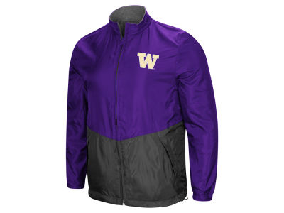 Washington Huskies Colosseum NCAA Men's Halfback Option Reversible Full Zip Jacket