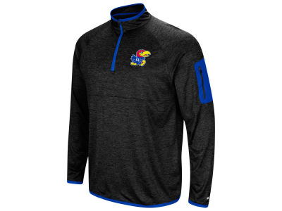 Kansas Jayhawks Colosseum NCAA Men's Amnesia Quarter Zip Pullover