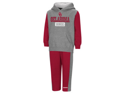 Oklahoma Sooners Colosseum NCAA Toddler Back To Second Grade Fleece Set
