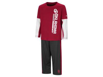Oklahoma Sooners Colosseum NCAA Toddler We Got Us Set