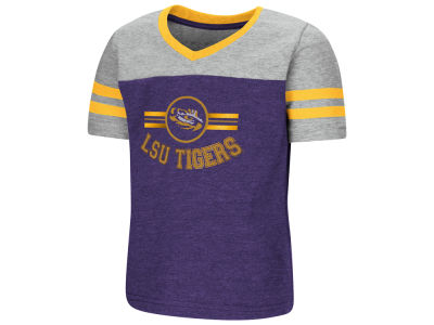 LSU Tigers Colosseum NCAA Toddler Girls Pee Wee Football T-Shirt